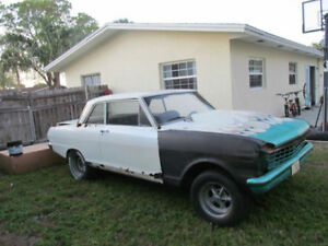 Wanted 1962-64 Nova or Chevy II misc. parts