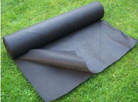 2M x 30M Thickness Heavy Duty Weed Control Ground Cover Fabric UV Stabilised