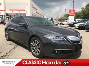 2015 Acura TLX V6 ELITE | NAVI | CLEAN CARPROOF | A/C SEATS | AW