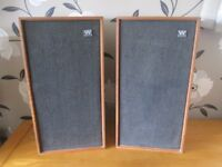 Vintage Wharfdale Linton 2 Speakers