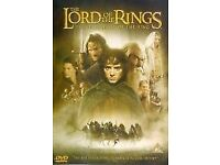 THE LORD OF THE RINGS DVDs