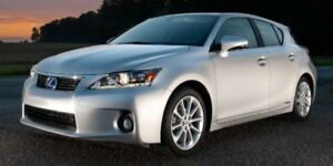 2012 Lexus CT 200h Premium, One Owner, MoonRoof, Back Up Cam