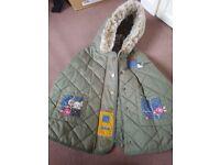 Used Next Cape Coat & Jacket