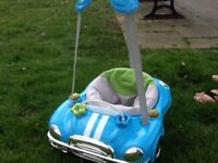 Kiddiecare Car Doorway Bouncer in excellent condition