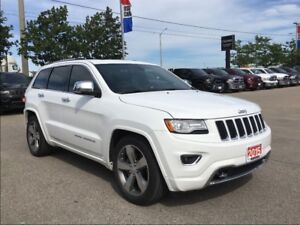2015 Jeep Grand Cherokee OVERLAND**PANORAMIC SUNROOF**AIR SUSPEN