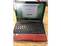 Acer aspire one netbook laptop