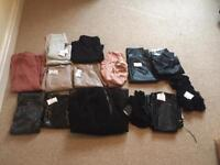 Missguided joblot clothes, skirts, dress, trousers, tops