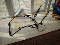 Rear mounting bike rack