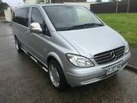 2007 Mercedes Vito Day van/ Camper, 2.2 diesel 6 speed Only 80000 Miles,