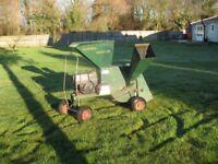 Globe Garden Master Shredder/Chipper, 8HP , works a treat, BARGAIN