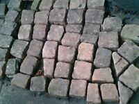 Cobble stones, retro look, about 10 sqr metre