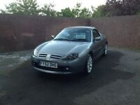 Mg Tf 2002 135bhp met grey genuine 57000 miles lovely original condition