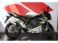2017 17 RIEJU RS3 50CC RACING LIQUID COOLED, BLACK/GREEN, BRAND NEW!