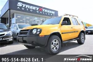 2002 Nissan Xterra Supercharged LOW KMS ACCIDENT FREE AWD 4X4