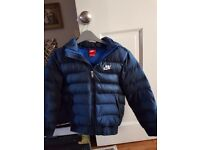 Boys nike padded coat