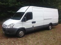 Ford iveco daily diesel 35/s14 l.w.b 2008 mot drives superb private number plate