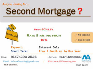 S.N.FINANCING -Second Mortgage