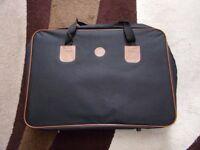 "4 PIECE SUITCASE / BAG SET - BRAND NEW. BLACK 22"" x 15"""