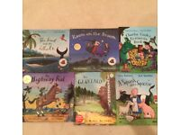 Julia Donaldson and Axel Scheffler books X 6 mixture of hard and paper back books