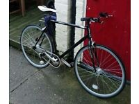 Black Viking Fixie/Fixed gear Bike single speed