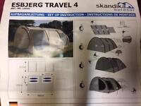 Esbjerg Travel 4 Tent