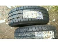 Goodyear tyres new 225 70 15