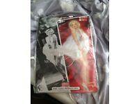 Marilyn Monroe Fancy Dress Set Size Medium 10-12-14
