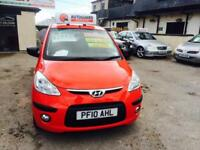 Hyundai i10 Metallic Red Manaul Very low Miles 14.000 Warranted 1 Owner