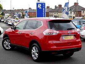 NISSAN X-TRAIL 1.6 DCi ACENTA 5dr 130 BHP 4WD & Pan Roof Great Va (red) 2015