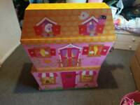 Lalaloopsy sew magical 3 story wooden house