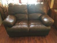2 recliner settees/sofas needs gone today Saturday!!
