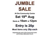 Ore village Massive Jumble sale