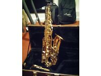 Alto Saxophone & Selmer Mouth Piece for Sale