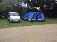 Hi gear voyager 6 tent, porch, carpet and footprint