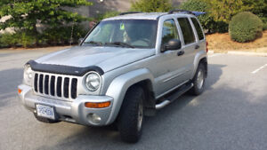 2002 Jeep Liberty Limited SUV, Crossover 4WD