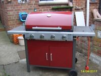 LEISUREGROW GRILLSTREAM 4 BURNER GAS BBQ