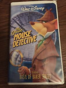 Disney's the great mouse Detective on VHS