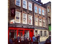 Self-contained studio in vibrant Spitalfields