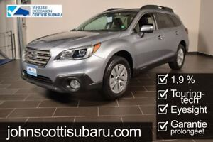 2015 Subaru Outback Sport Technology Eyesight 1.9%