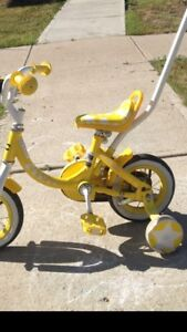Child cycle very good shape with holding
