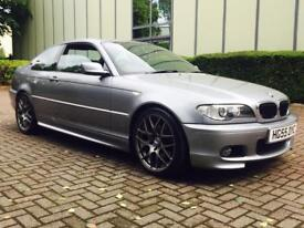 2005 55 REG BMW 3 Series 2.0 320Cd Sport 2dr LOVELY RARE EXAMPLE WITH F.S.H - LOW MILES M SPORT