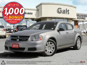 2013 Dodge Avenger AUTO | A/C | LOCAL TRADE | ONLY $79 BI-WEEKLY