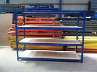 4 TIER WAREHOUSE LONGSPAN SHELVING RACKING BAY UNIT
