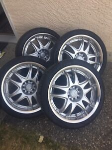 5x114.3 & 5x100 aftermarket wheels & tires