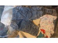 Massive bundle of newborn baby clothes
