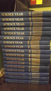 Science Year Year books.