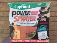 Cuprinol Power Sprayer with Rechargeable Battery