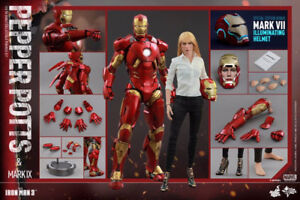 Pepper Potts and Mark IX - IM3 1/6th Hot Toys Action Figure