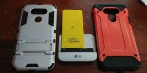 LG G5 battery, Camera module, 2 cases.
