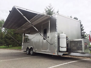 FULLY LOADED CONCESSION TRAILER